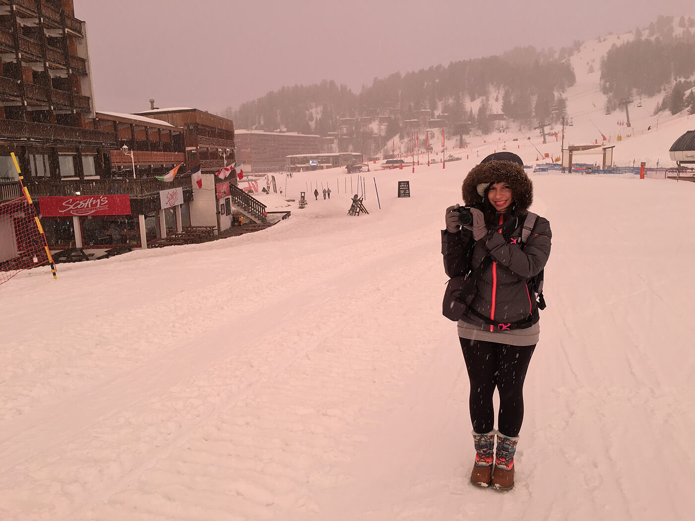 Panasonic G7 dans la neige
