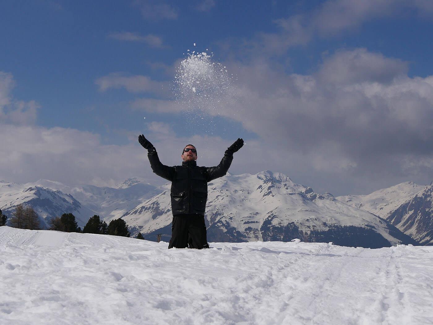 Test du Mode 4K Photo au ski