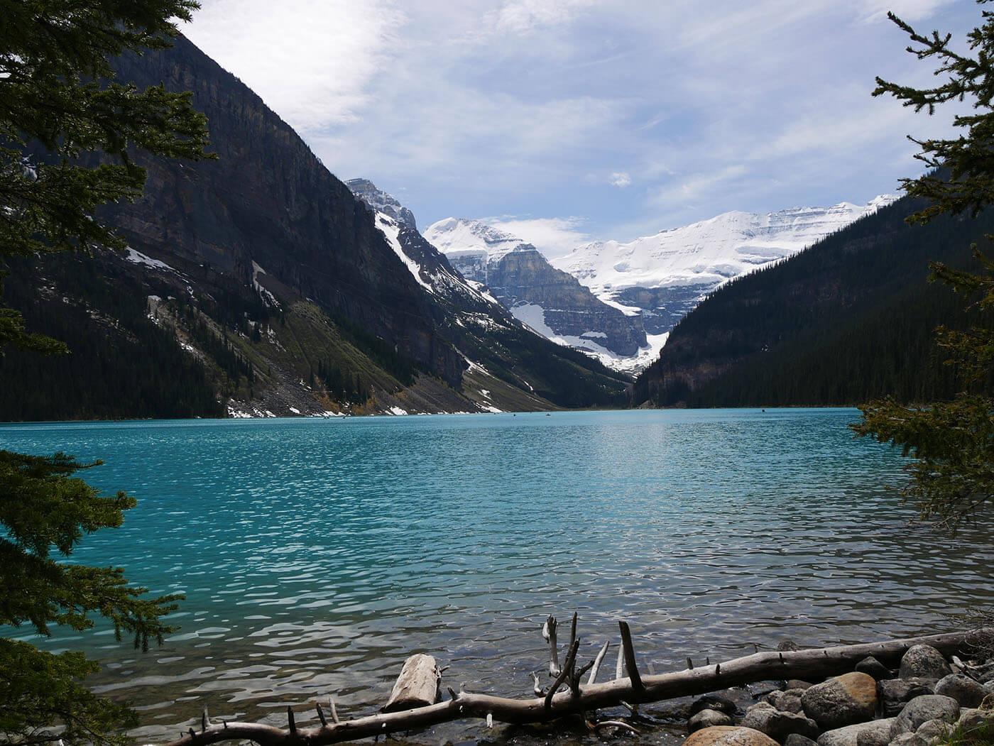 Photo de Lake Louise en Alberta Canada