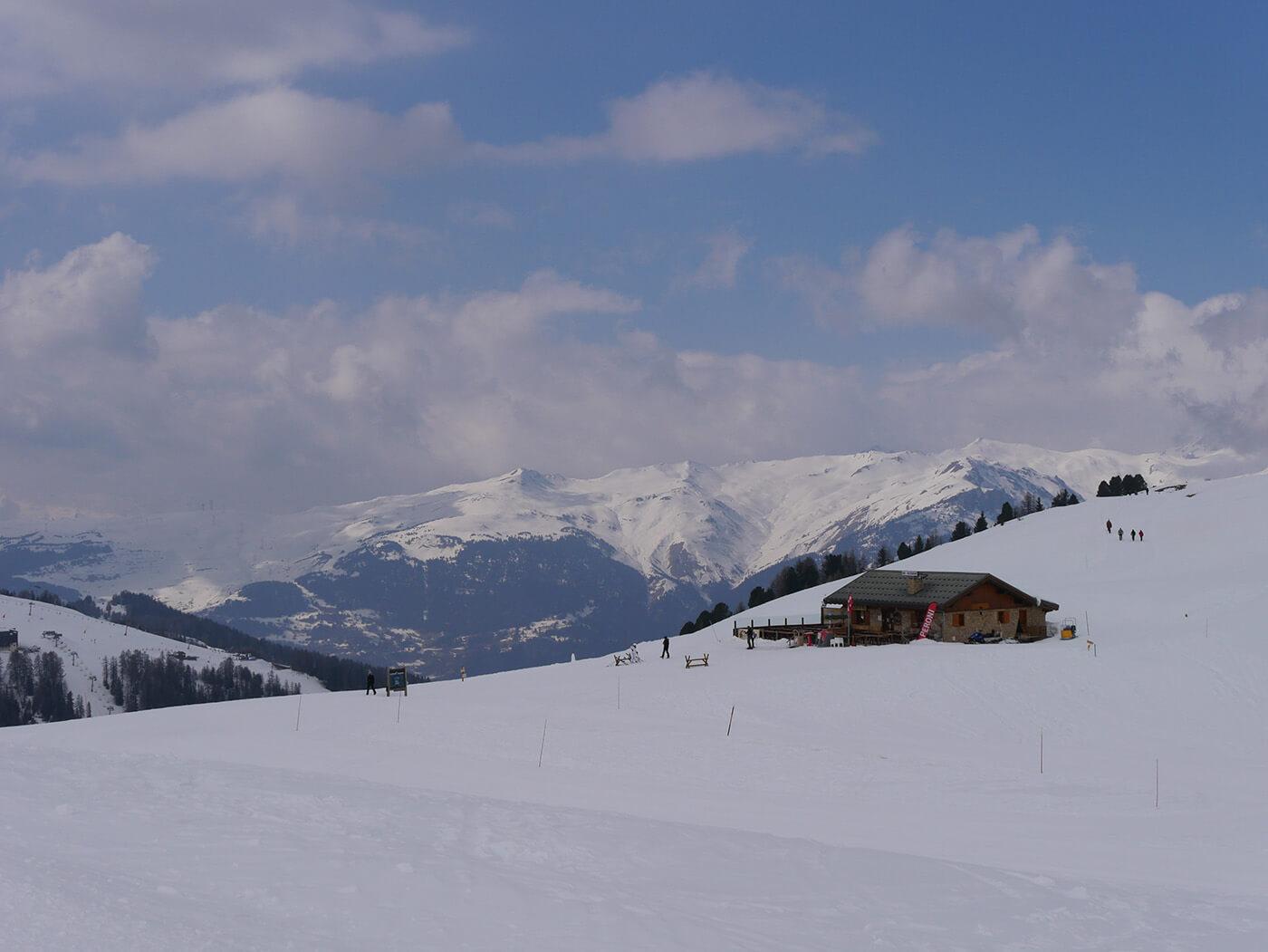 Photo de Chalet dans la montagne prise avec le Panasonic G7 + GX Vario 14-140 mm