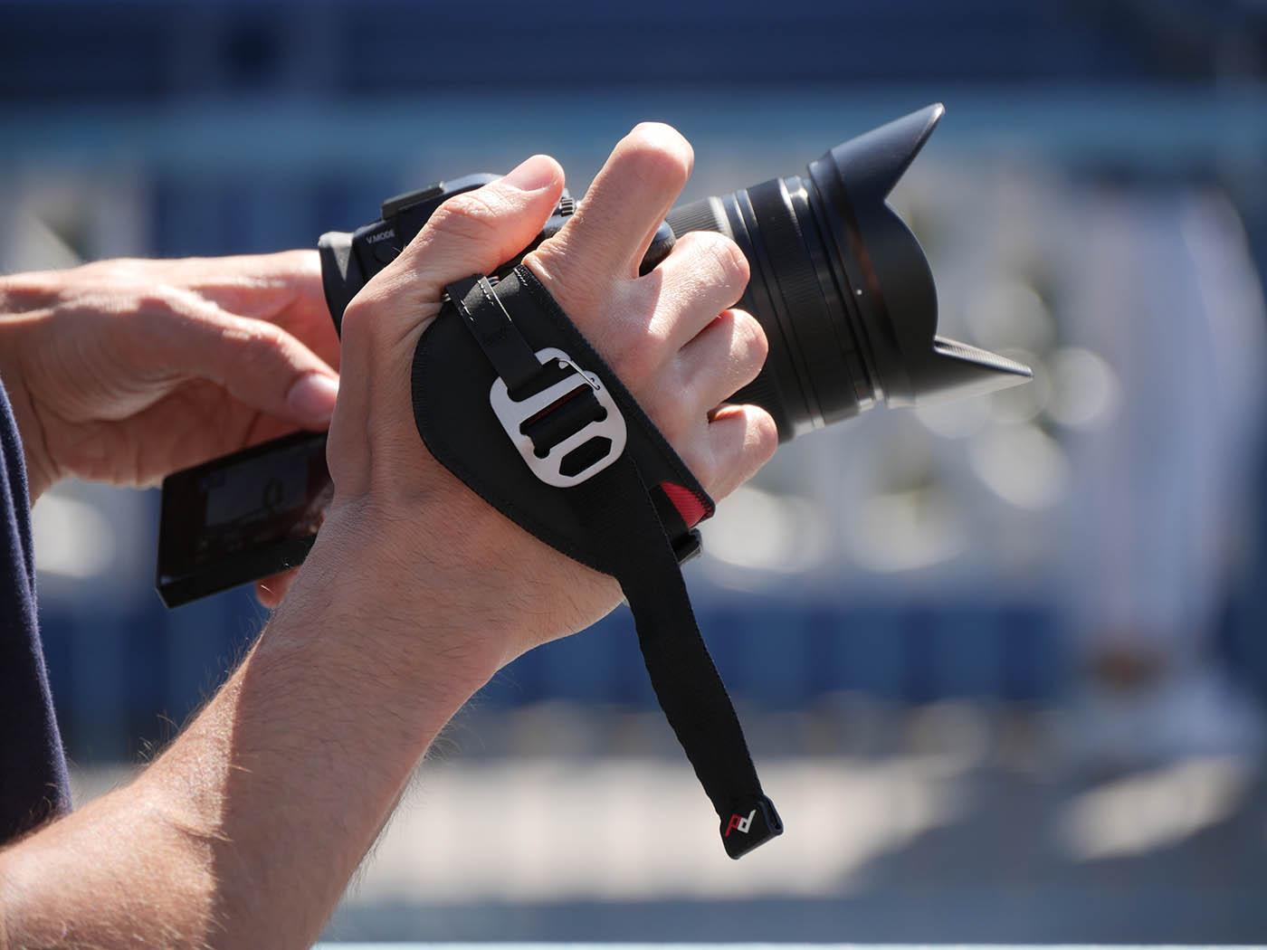courroie poignée pour appareil photo hybride Lumix