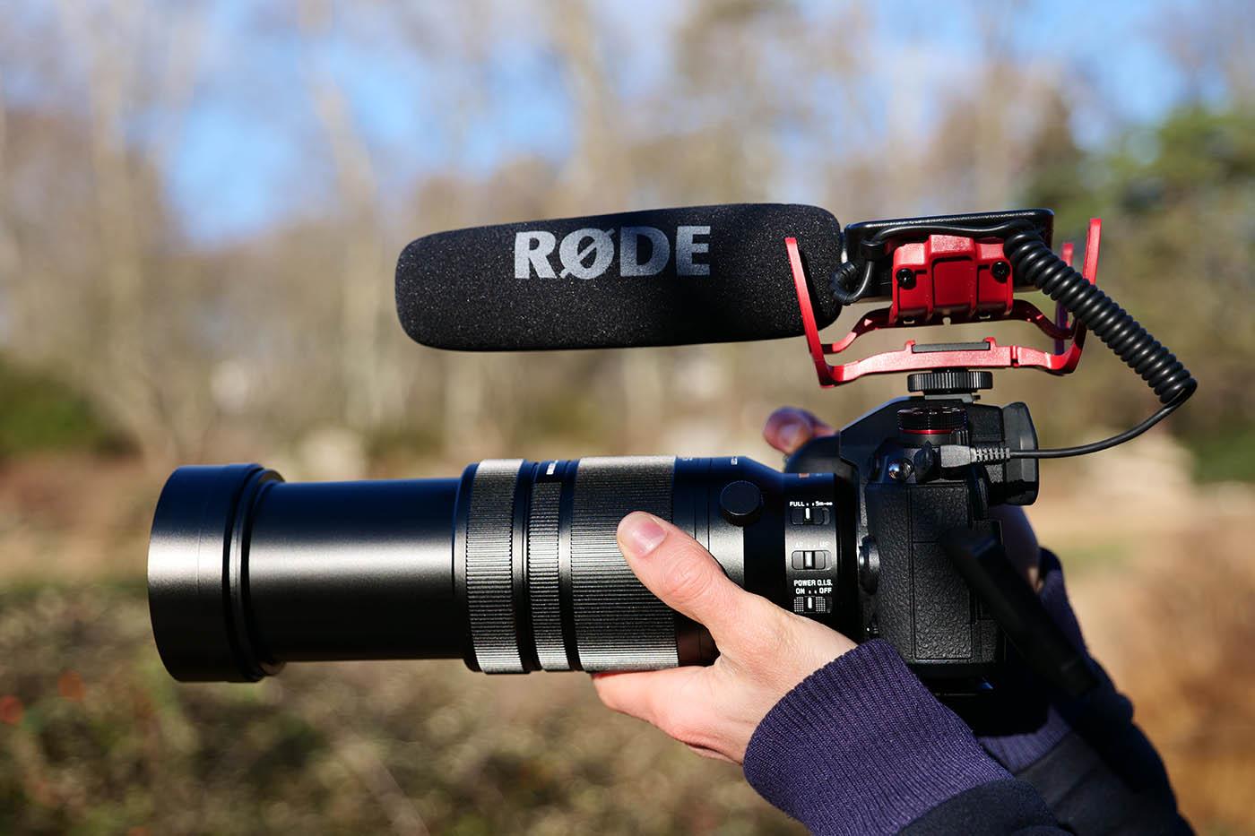 vidéo 4K avec le Panasonic Leica 100-400 m