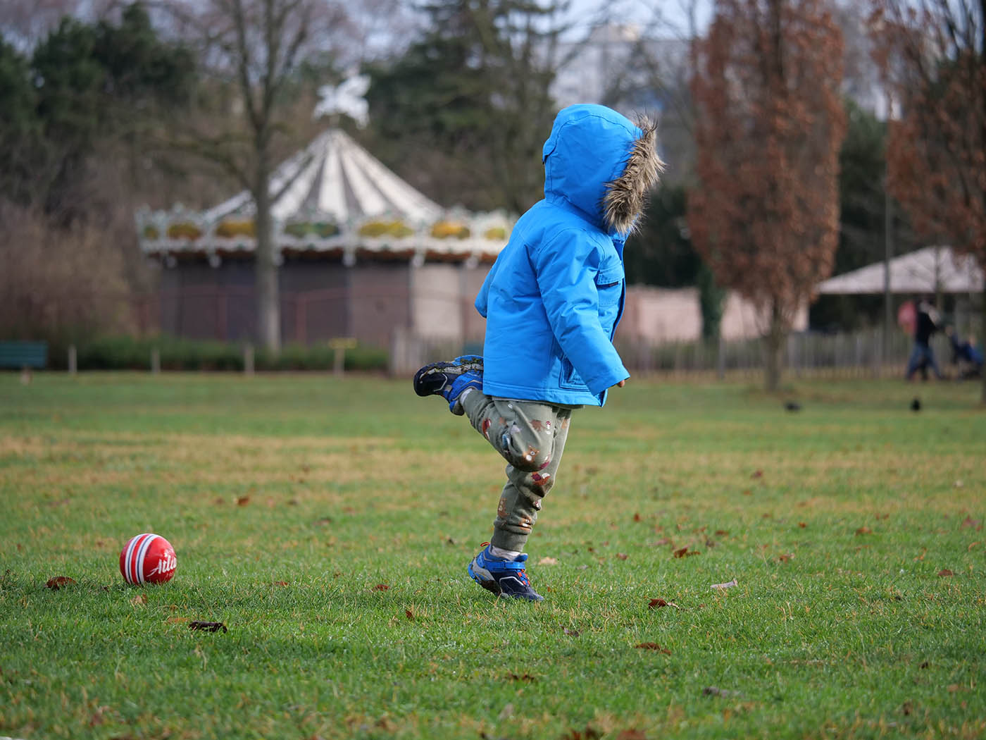 photo de sport prise avec Panasonic Leica 100-400 mm