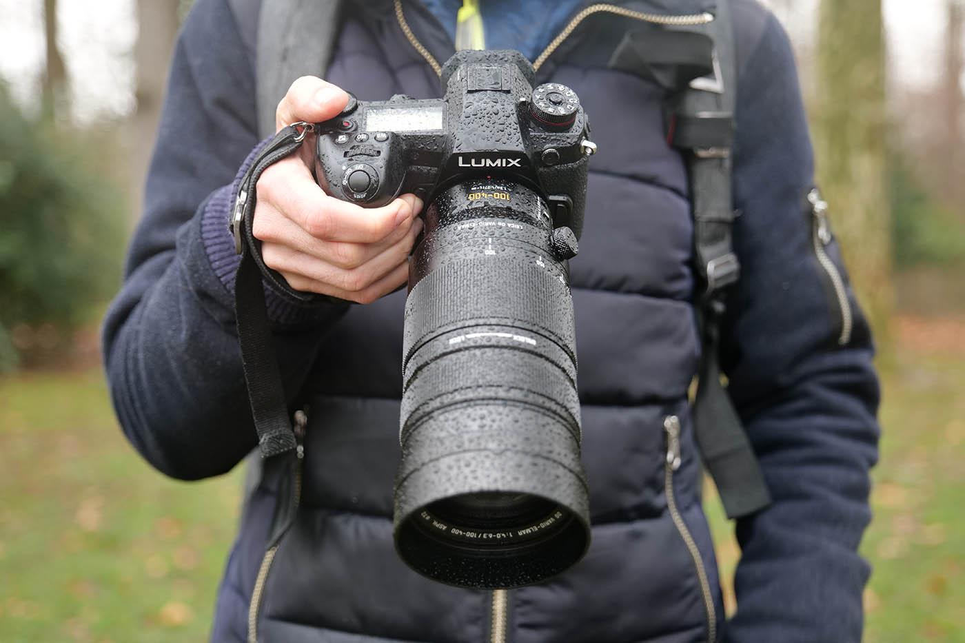 Prise en main de l'objectif Panasonic Leica 100-400 mm f4.0-6.7
