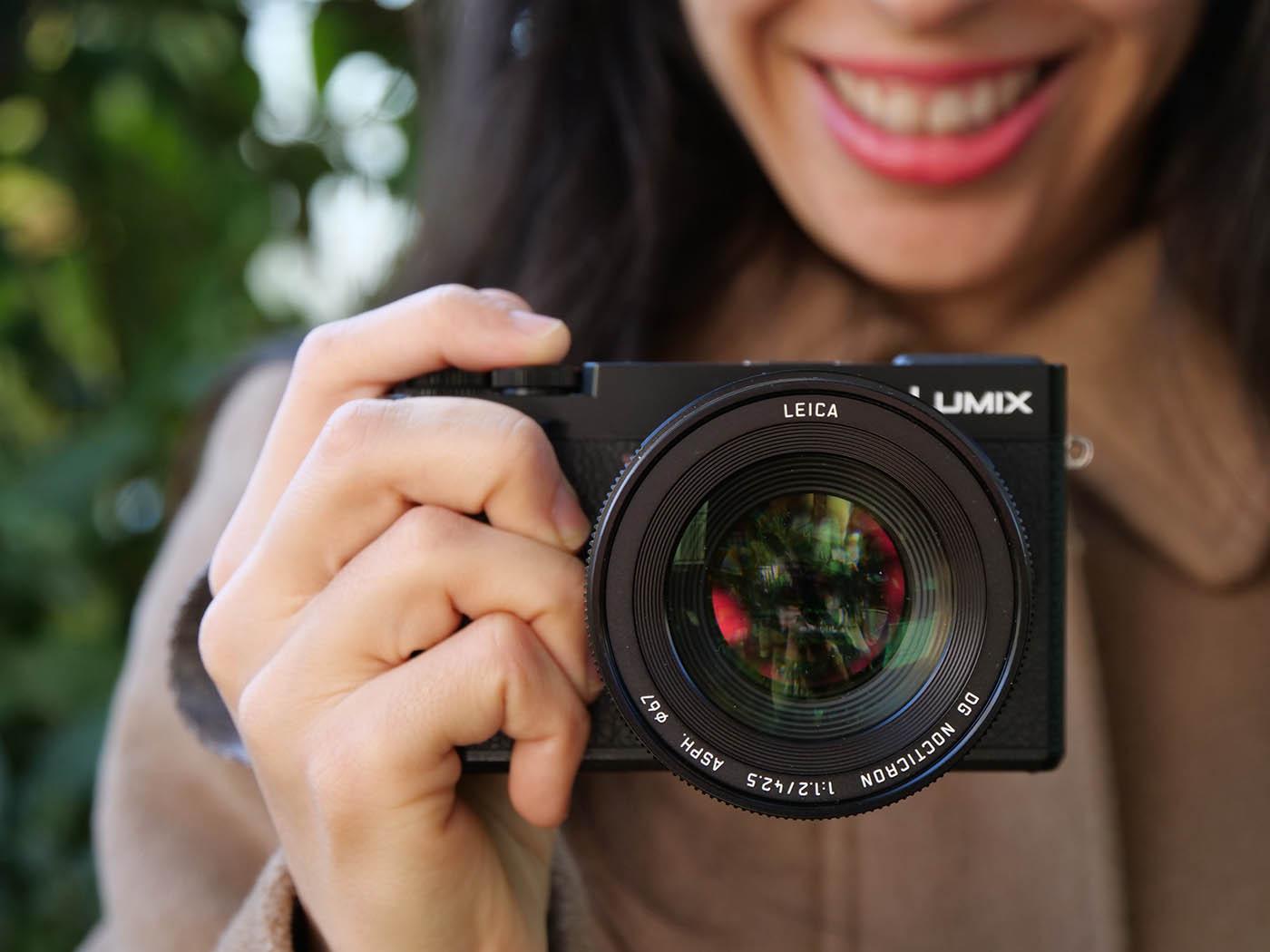 Optique Panasonic Leica pour portrait