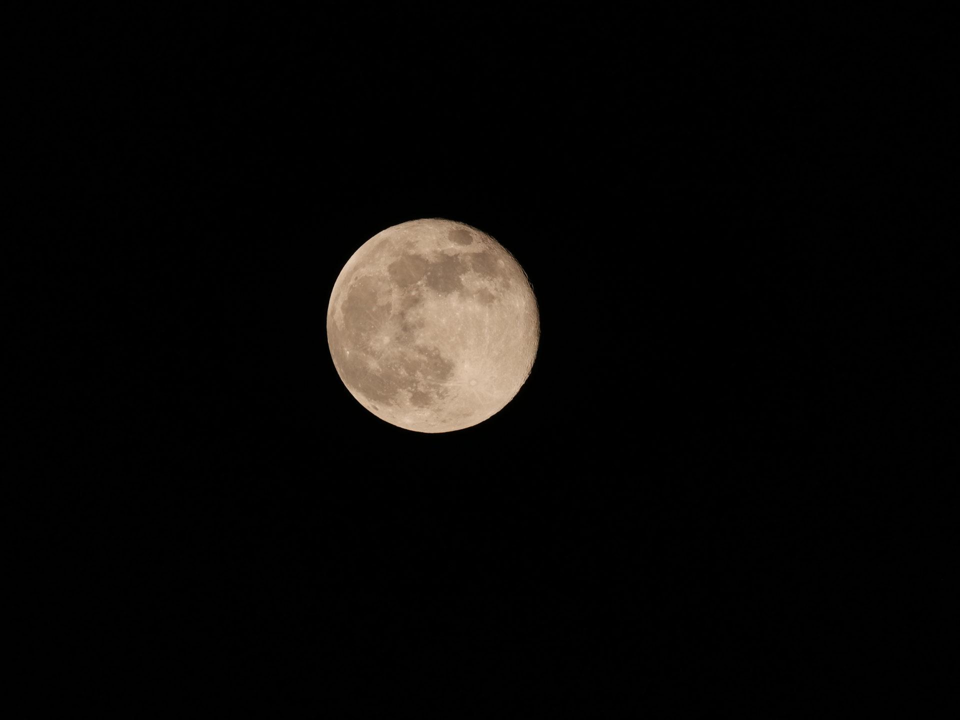 Tutoriel comment prendre des photos de la Lune