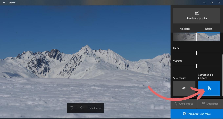 corriger des images gratuitement sous Windows