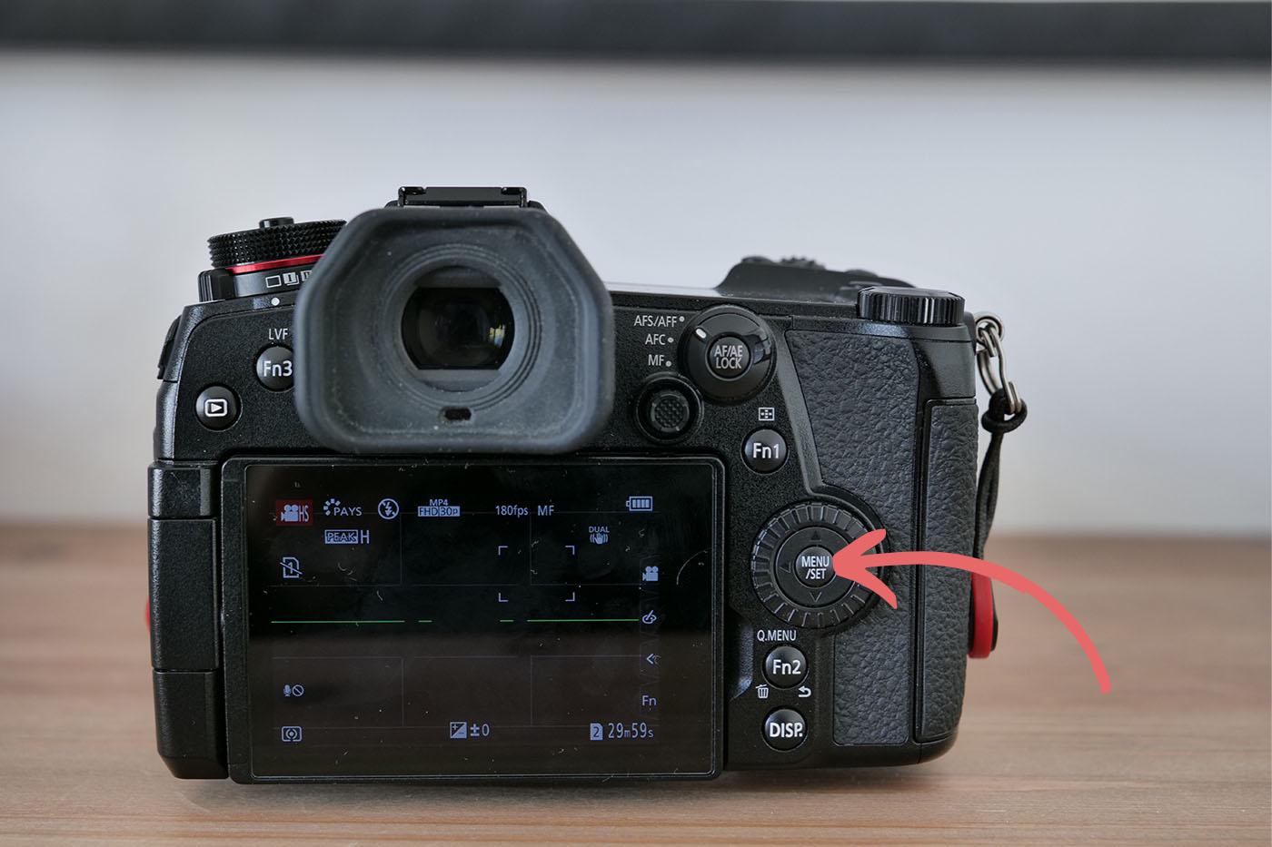 filmer des ralentis avec le Panasonic G9