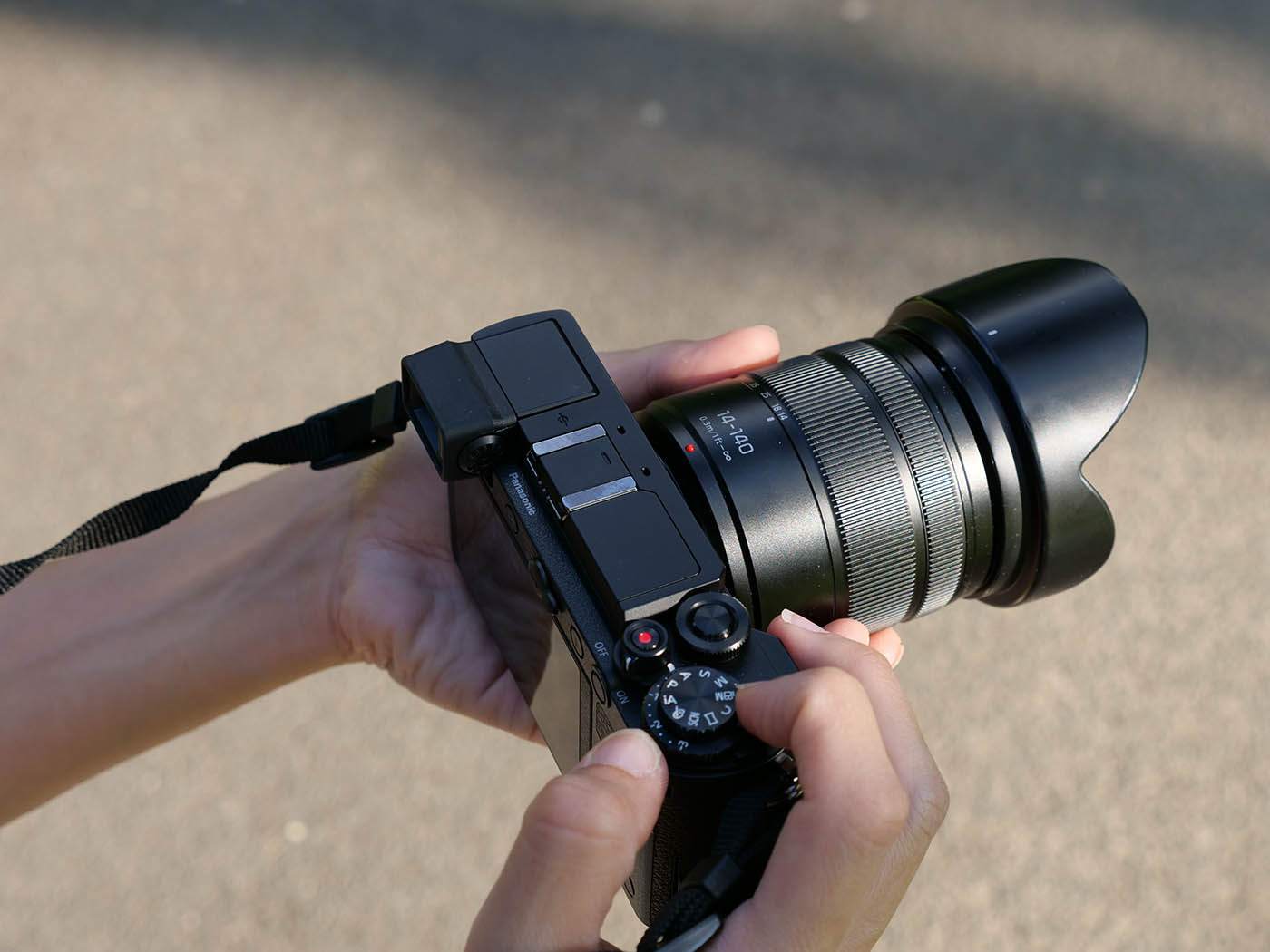 kit Lumix GX9 + Panasonic 14-140