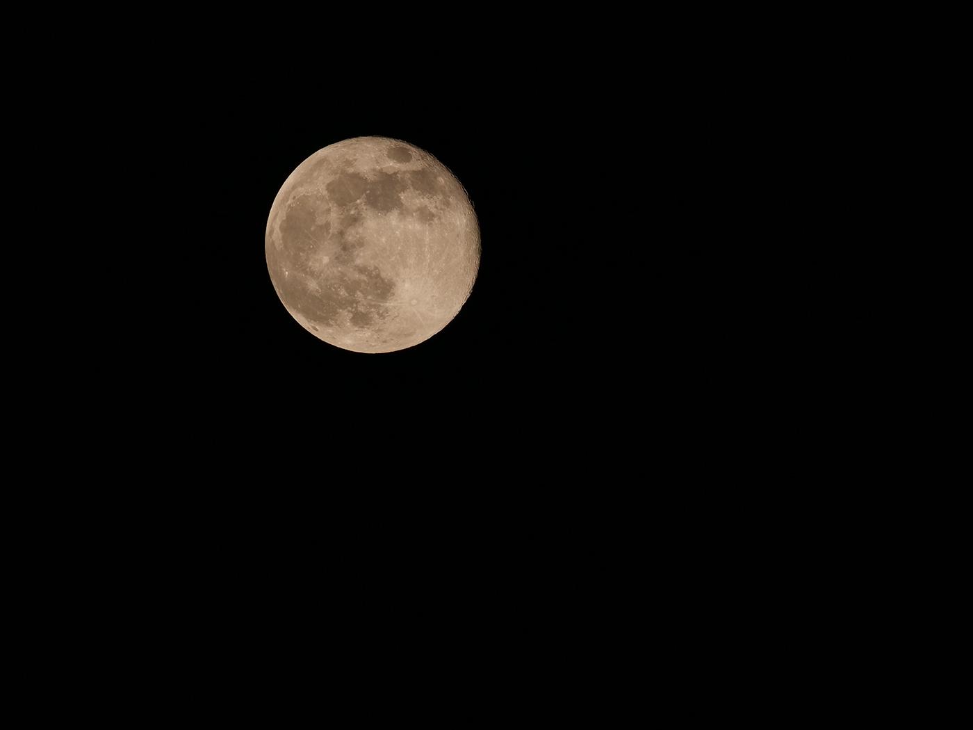 quels réglages pour photographier une Super Lune