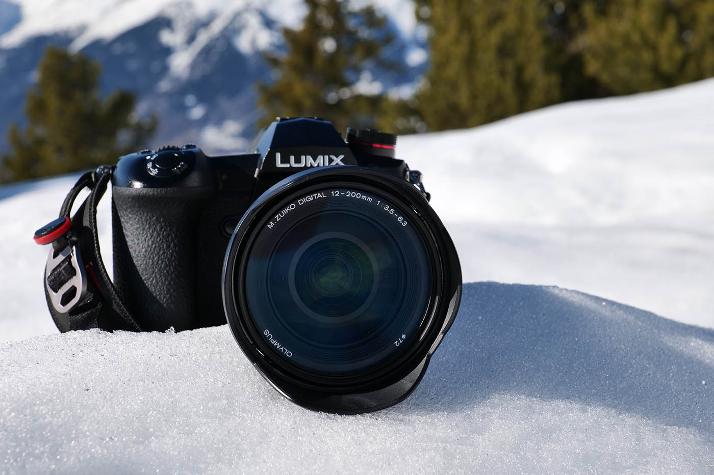 Olympus 12-200 mm + Lumix Panasonic G9