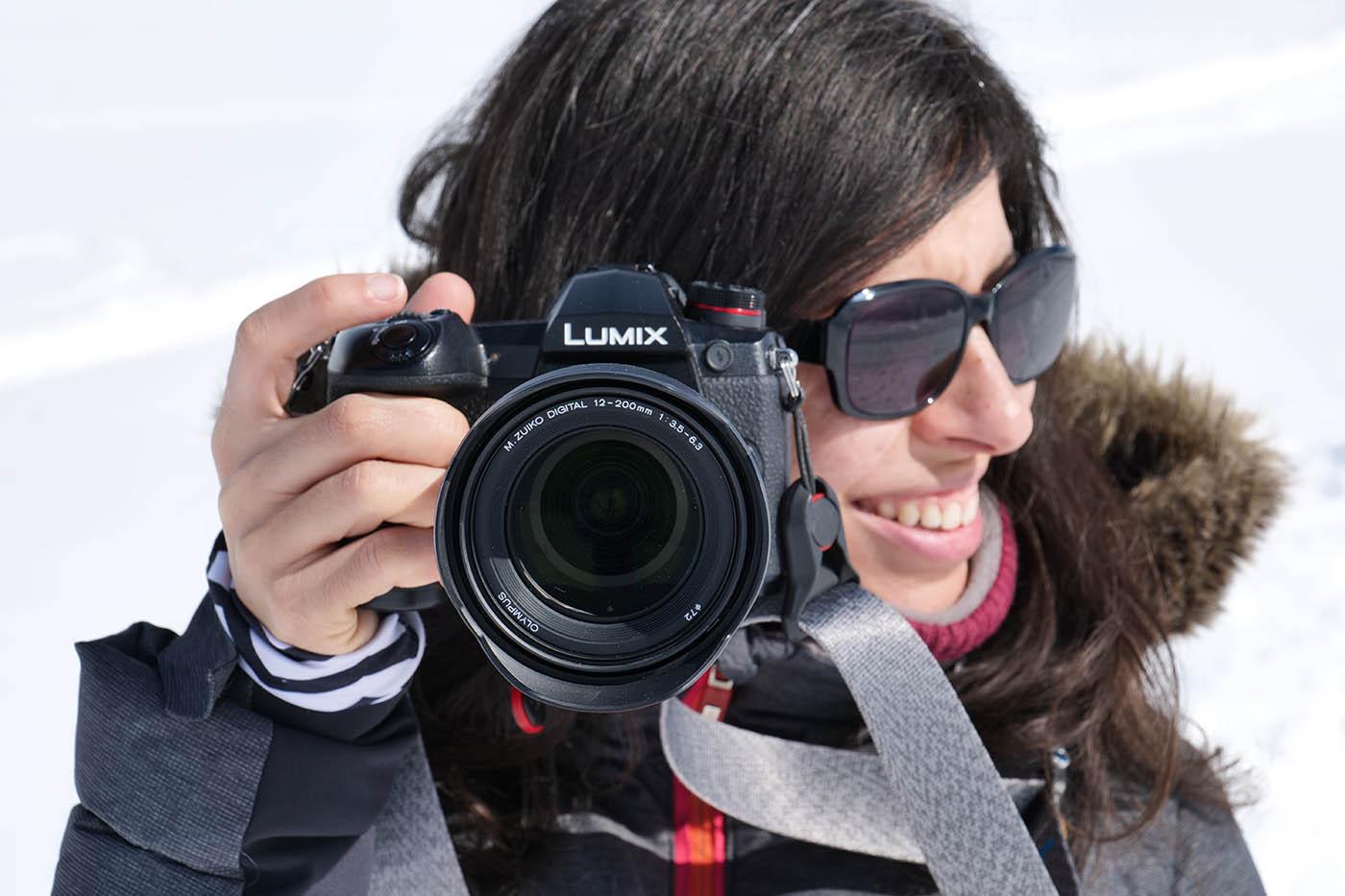 Olympus Zuiko 12-200 mm + Lumix Panasonic G9