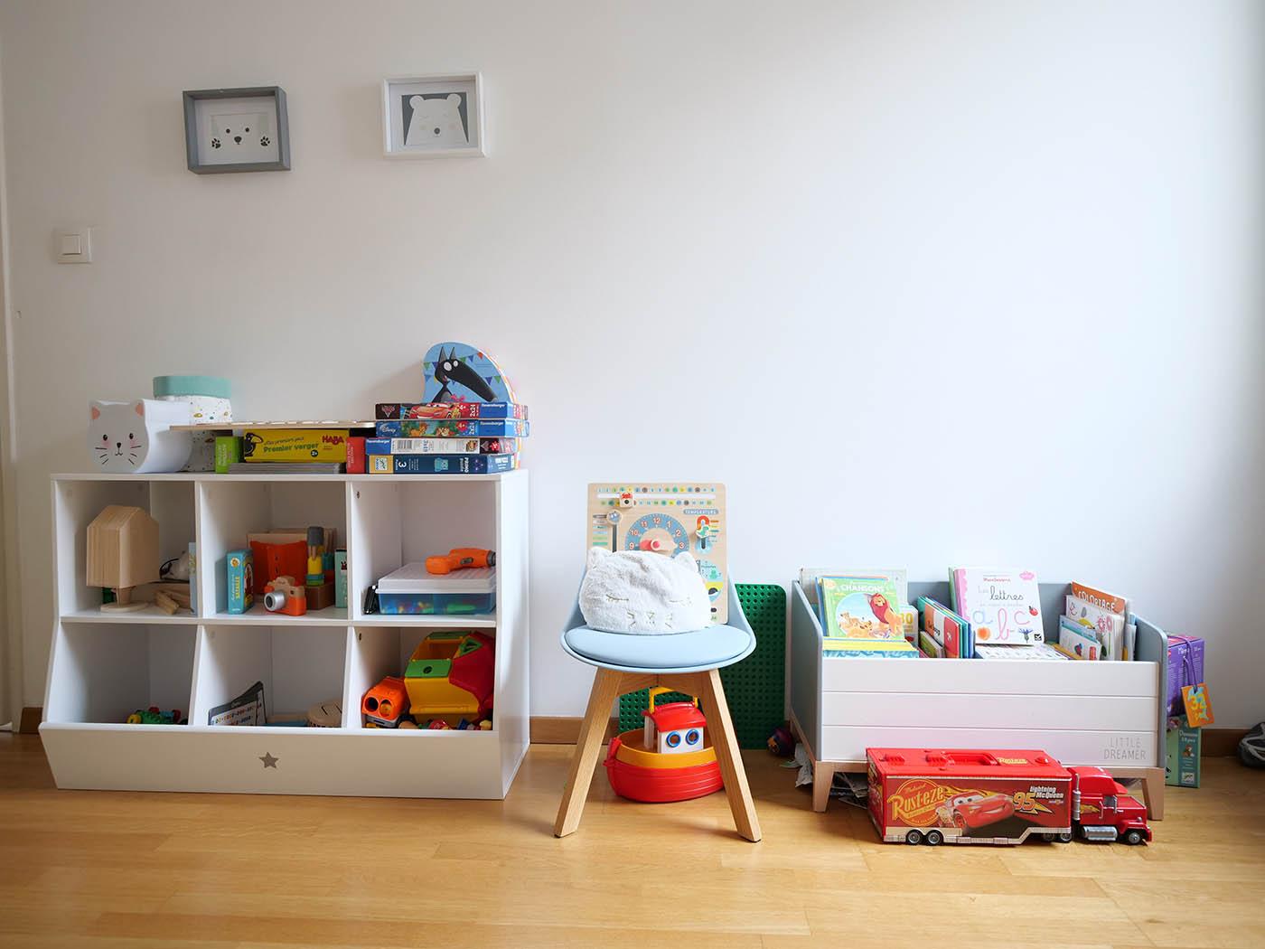 chambre d'enfant en vue d'une annonce de location