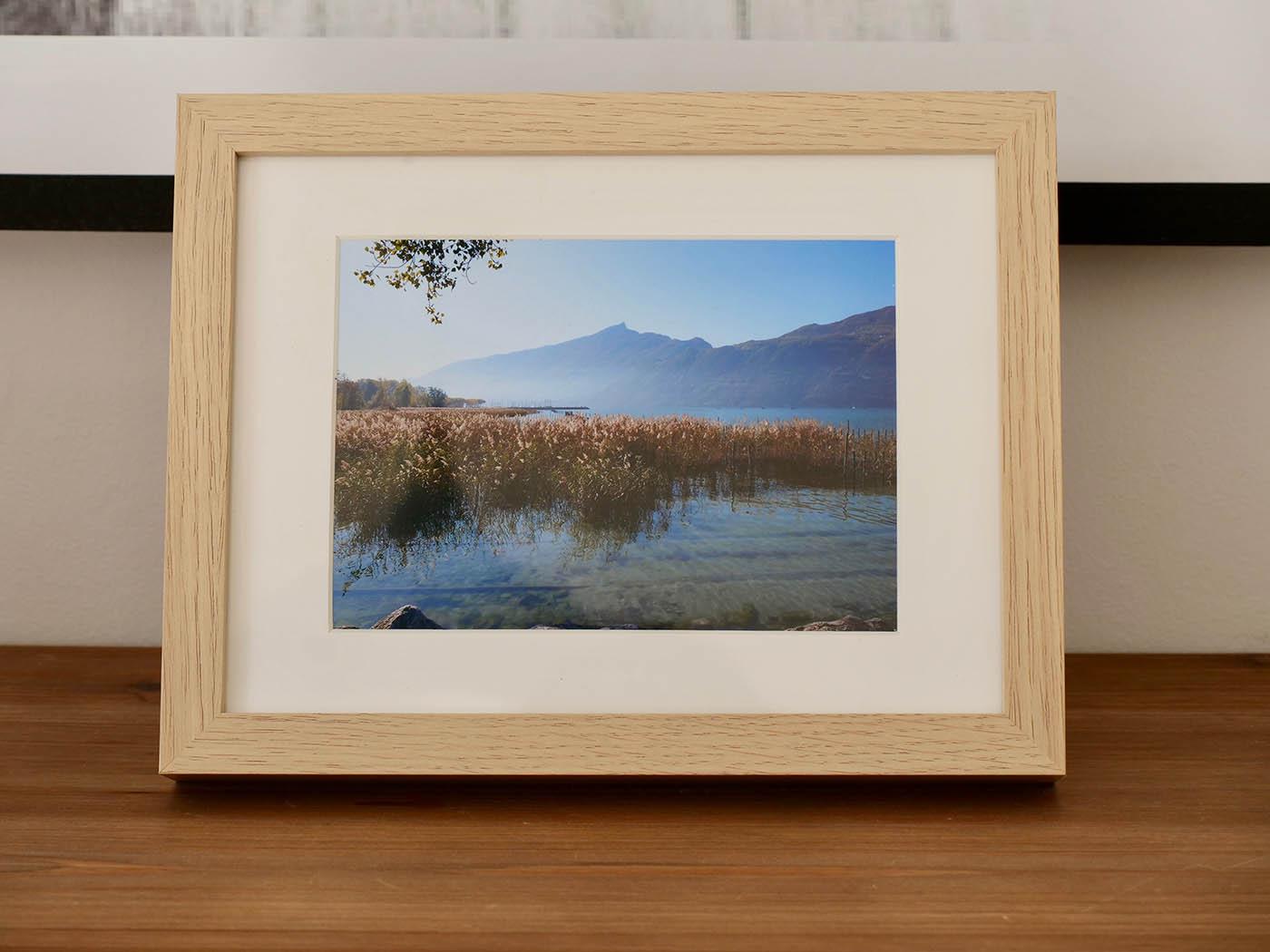 impression photo du lac d'Aix les Bains