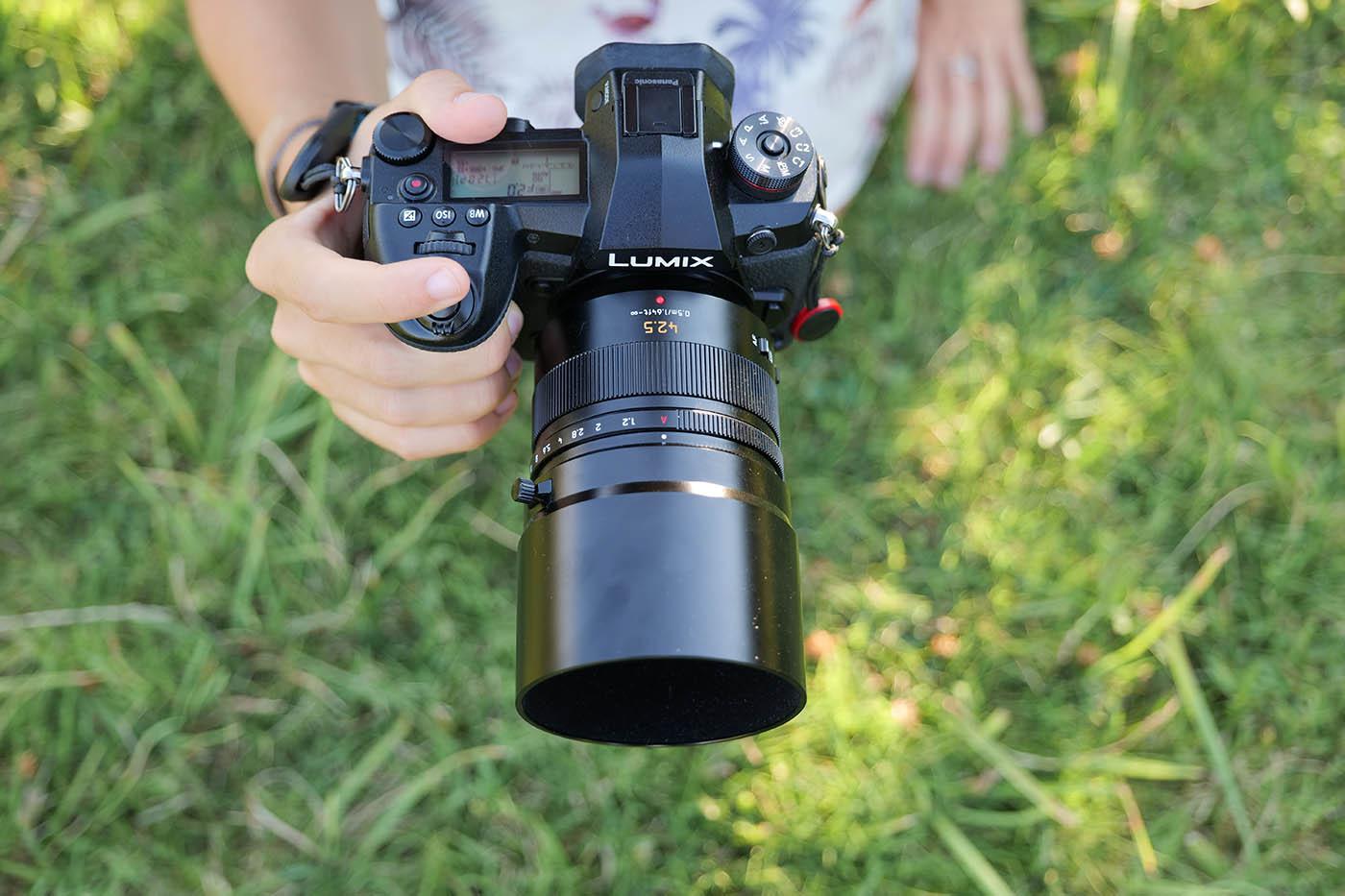 Panasonic Leica 42.5 mm f1.2 test
