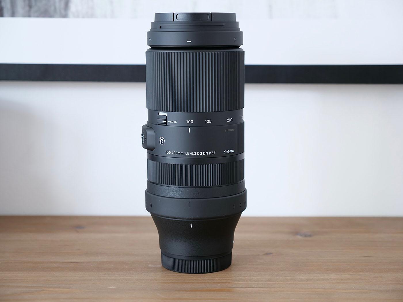 objectif plein format Sigma monture L zoom