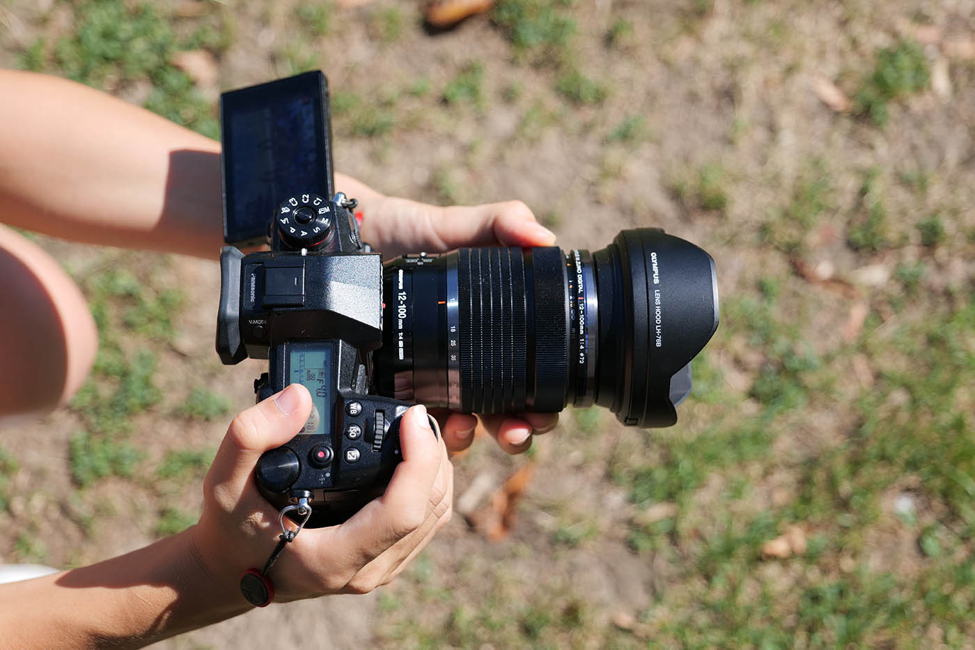 Olympus 12-100 mm test