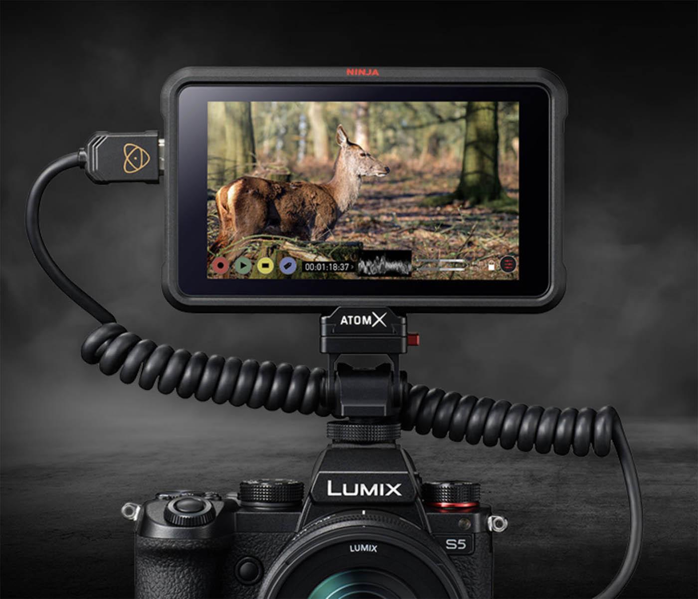 Vidéo 4K et 6K Lumix S5