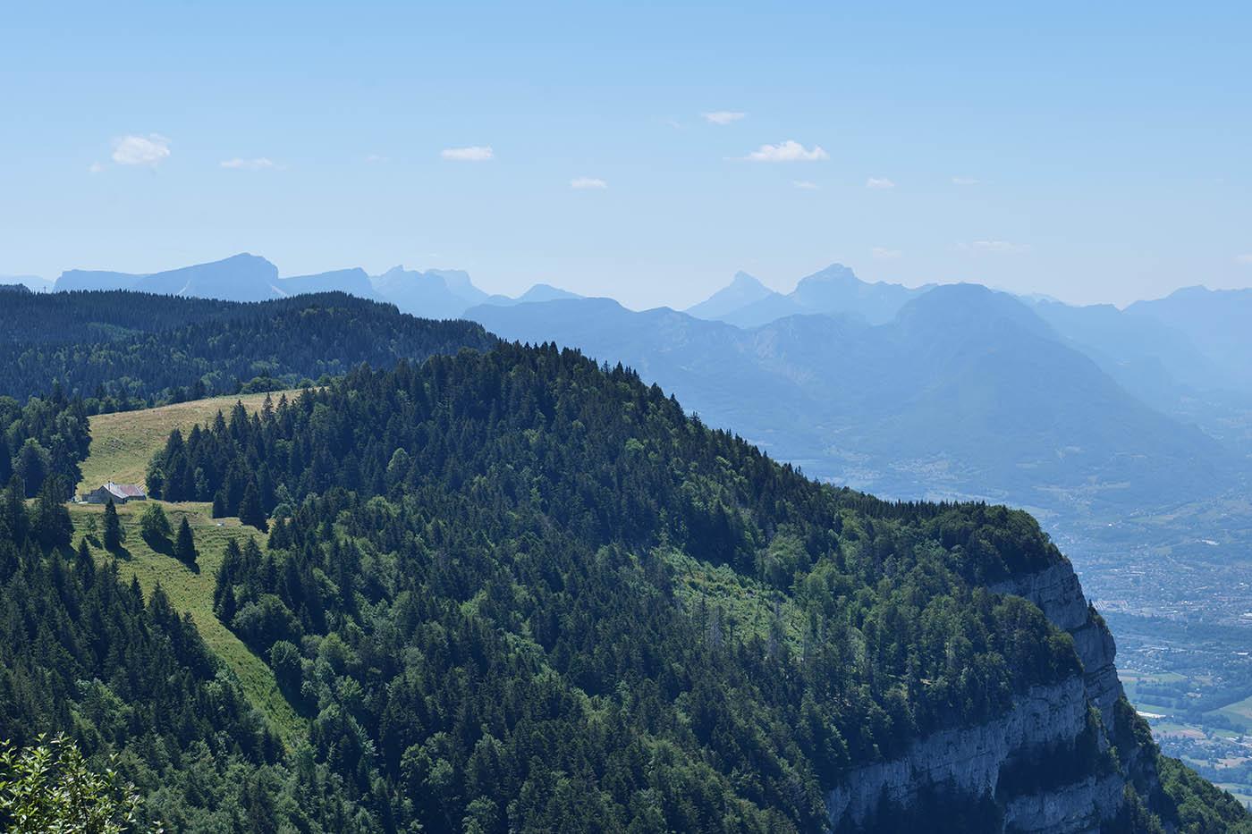 Test Appareil Photo Hybride Plein format en montagne