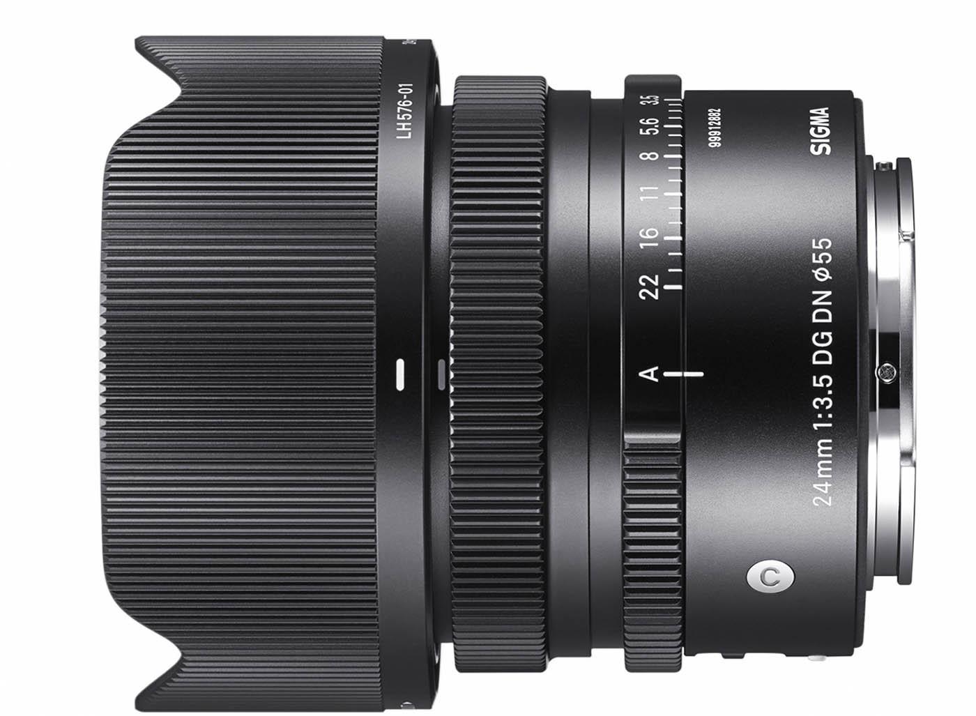 nouvelle focale fixe Sigma 24 mm f3.5 Monture L