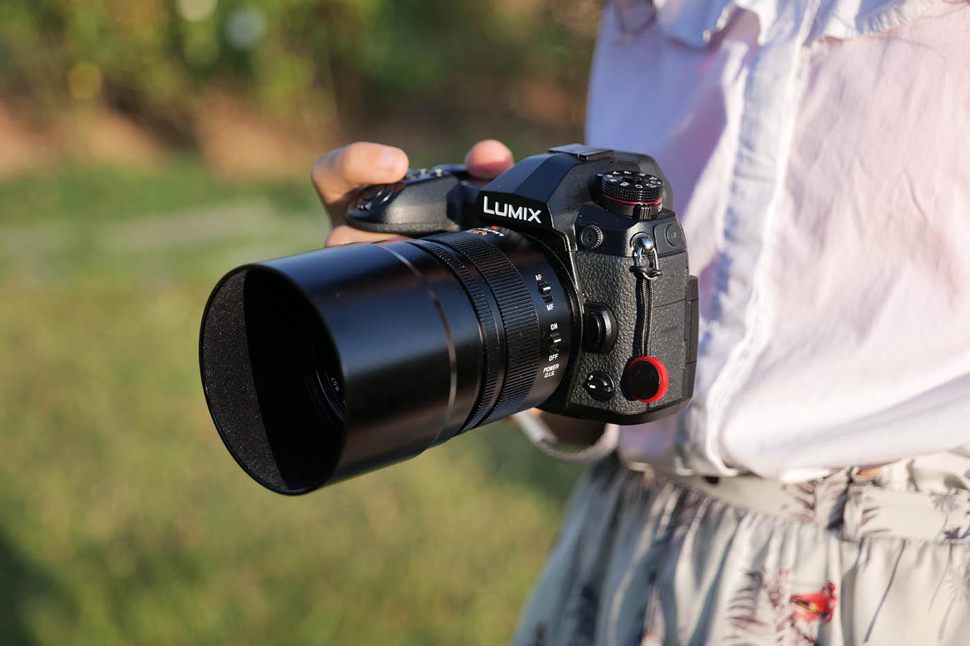 meilleur objectif portrait pour Lumix G9