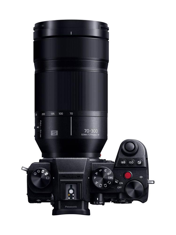 Lumix S 70-300 mm et Panasonic S5