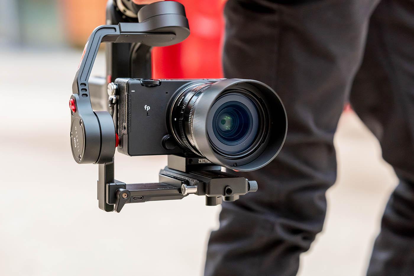 format et qualité enregistrement vidéo Sigma fp L