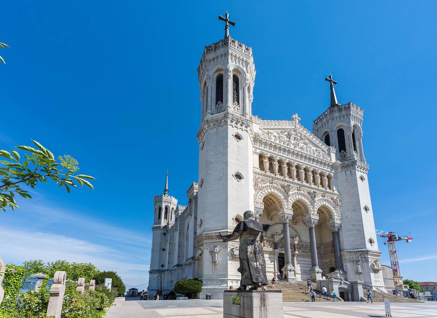 Basilique Fourvière Jean-Paul II